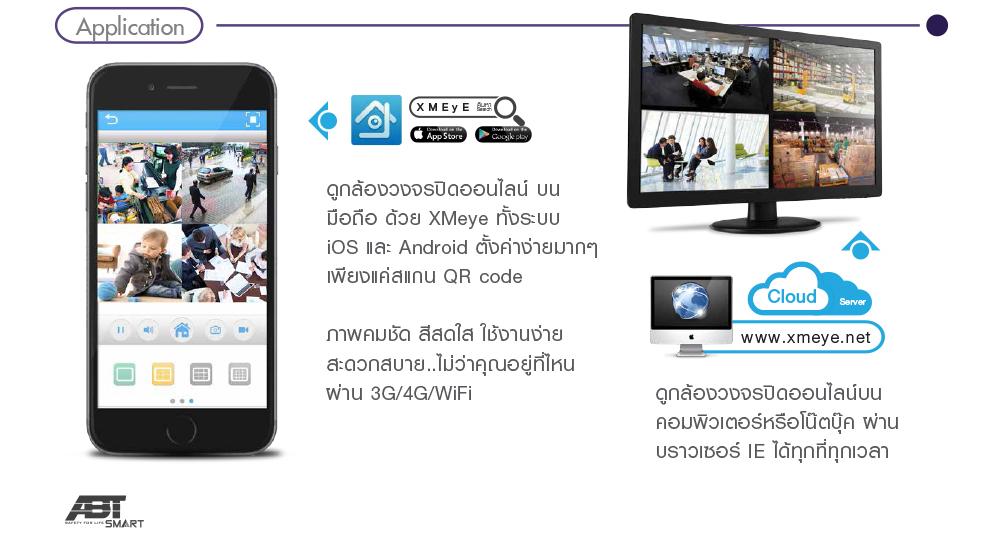 แอพดูกล้องวงจรปิด Xmeye ดูกล้อง CCTV IP CAMERA ผ่านระบบออนไลน์